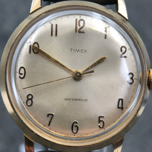 Vintage watch with Arabic numerals