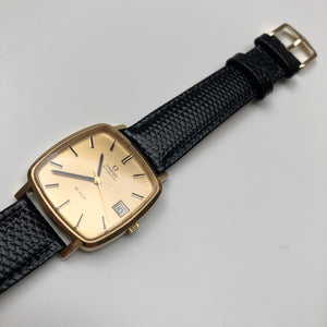Omega DeVille gold watch