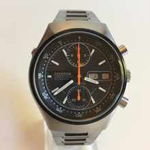 Mint condition Citizen Spider 67-9119 Chronograph with 8110a movement dial