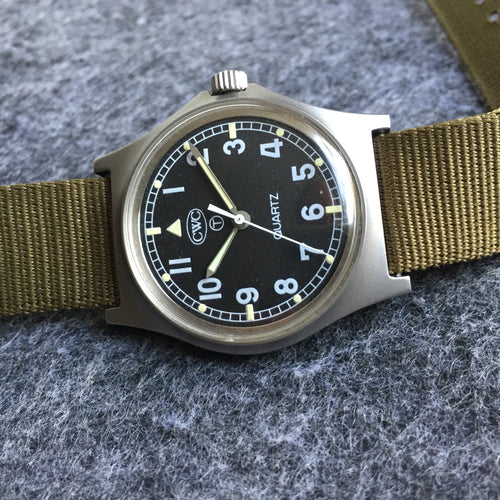 Vintage Cabot Watch Company Military watch