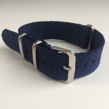 blue NATO watch strap
