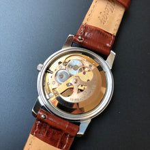 Vintage watch serviced movement