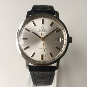 Omega Geneve Automatic silver dial