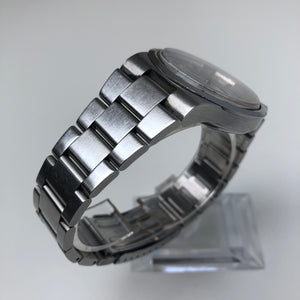 steel link watch bracelet