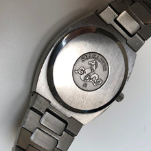Omega Seamaster monster engraving on watch