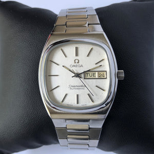 Omega Seamaster with Day and Date Window