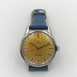 Vintage Omega watch with aged dial