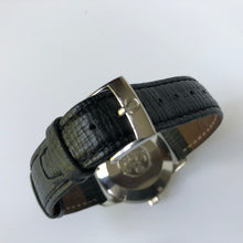 watch strap buckle with Omega sign