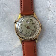 Vintage Triple Date watch