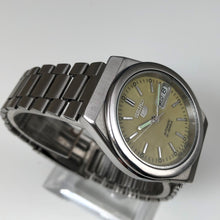 Seiko watch on stand