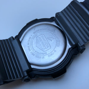 Casio G-Shock backside