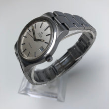 Vintage Omega watch with steel bracelet