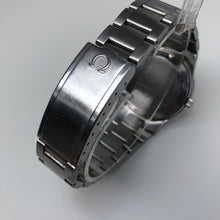 Omega logo on steel clasp