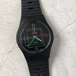 Retro Lorus analogue watch from the 1980's