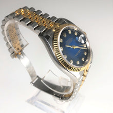 Rolex Datejust Gold Blue dial