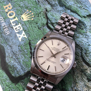 Rolex Oyster Perpetual Datejust 16200 on box