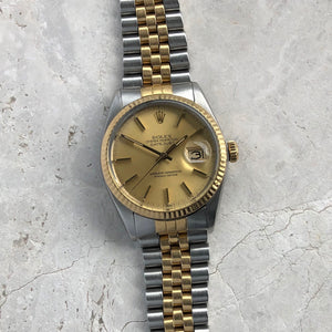 Gold Rolex Datejust