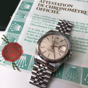 Rolex Oyster Perpetual Datejust 16200 with papers