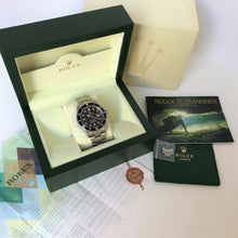 Rolex watch with box and papers