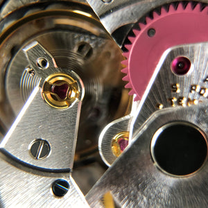 Rolex balance wheel and hairspring