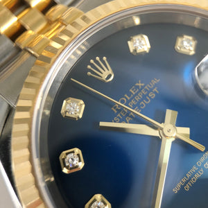 Rolex with diamonds