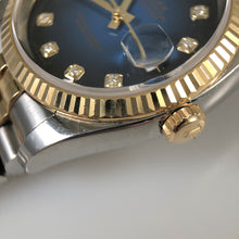 18ct Gold fluted bezel of Rolex watch