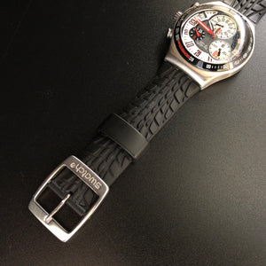 Swatch rubber strap