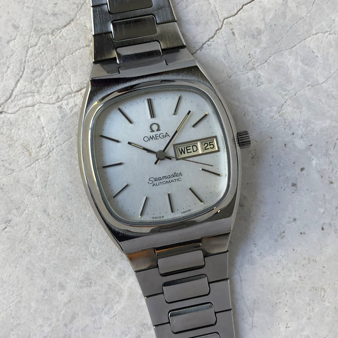 Omega Seamaster watch from the 1970's