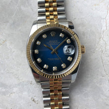 Rolex Datejust Blue Diamond Dial