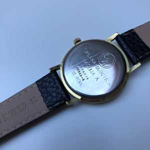 Watch case back inscriptions