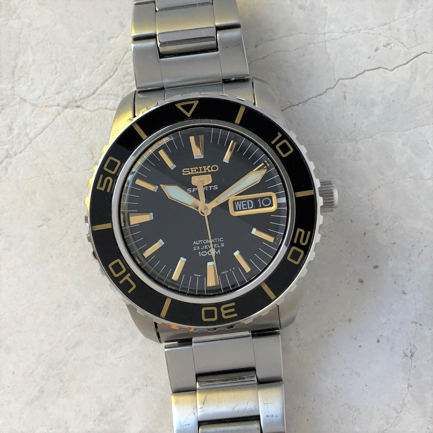 Seiko Fifty Fathoms