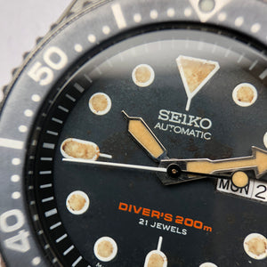 Seiko SKX007j Coffee Roast