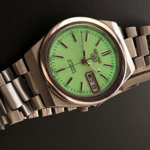 Seiko Watch with luminescent dial