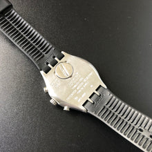 Backside of Swatch watch
