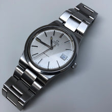 Omega watch with steel bracelet
