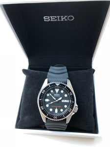 Seiko watch in box