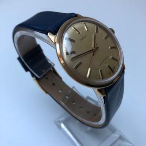 Vintage Timex watch in gold