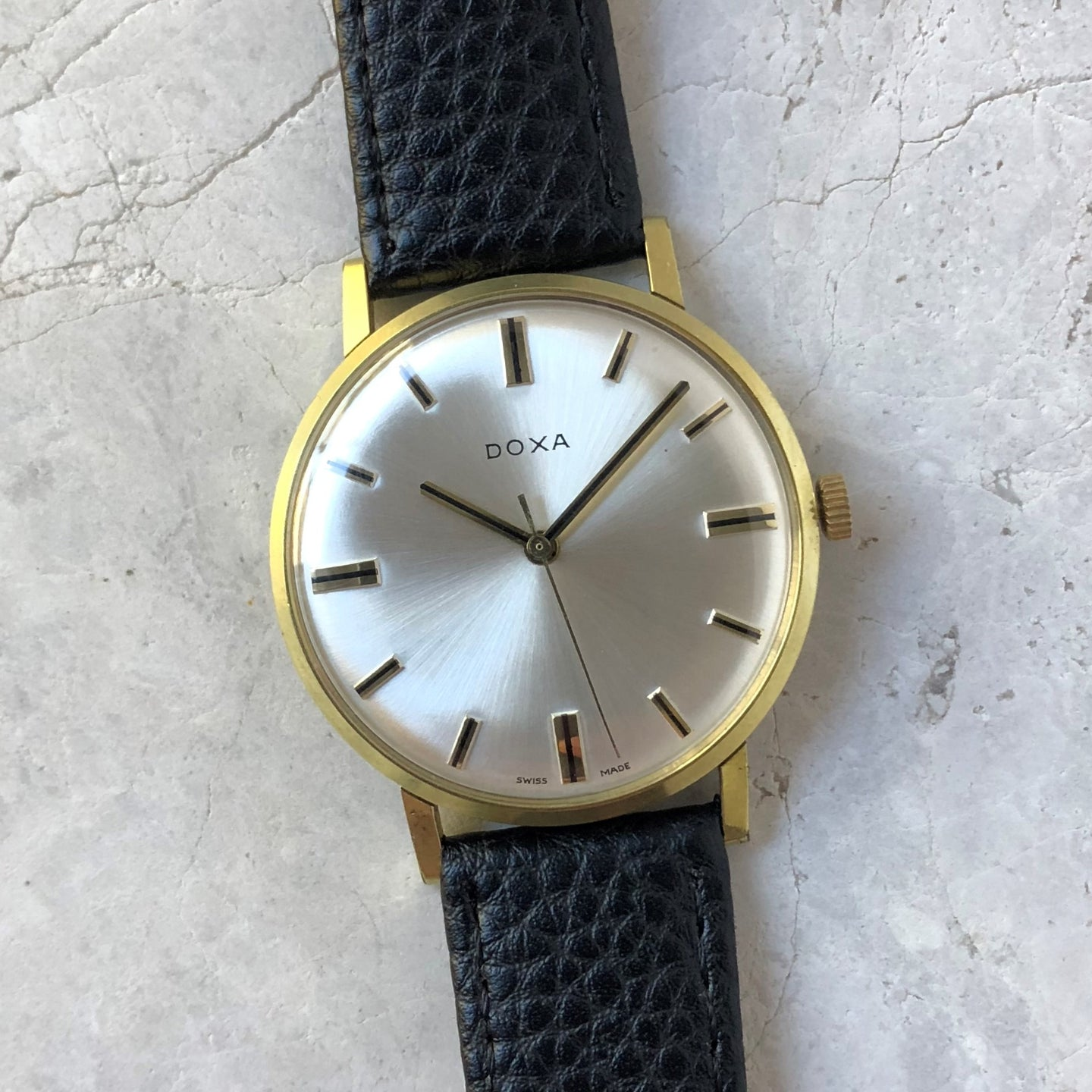 Vintage Doxa dress watch