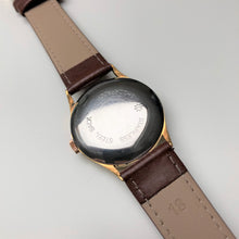 Junghans engraving on case back