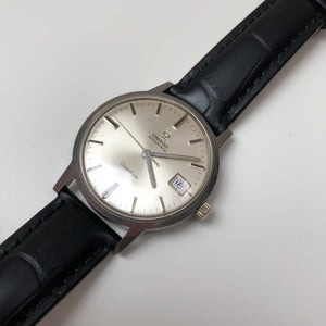 vintage omega watch stainless steel
