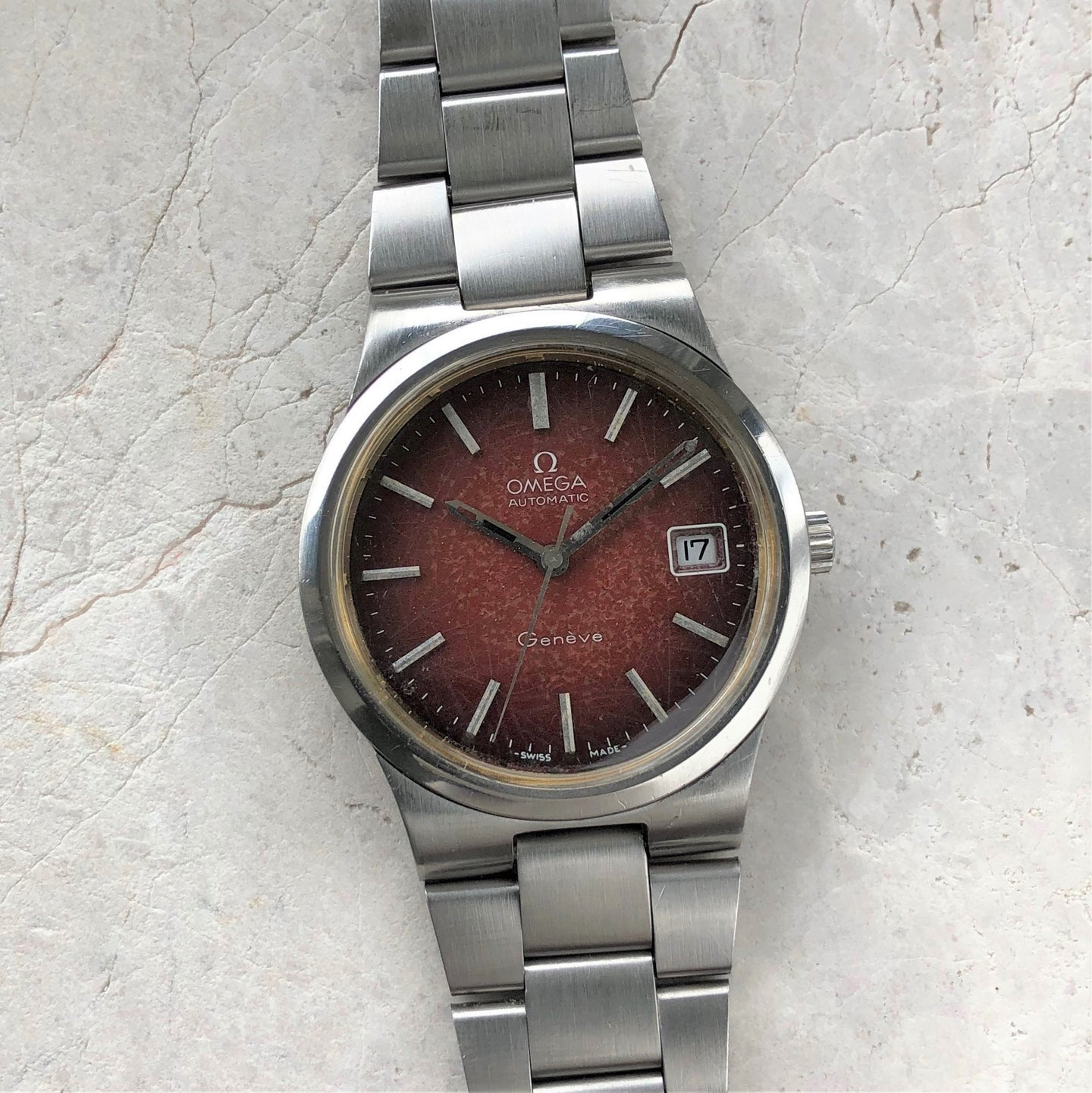 Omega red dial