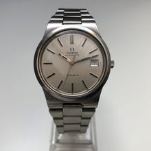 vintage omega geneve stainless steel watch