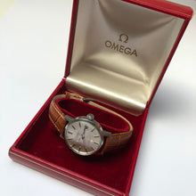 Second-hand Omega watch in original box