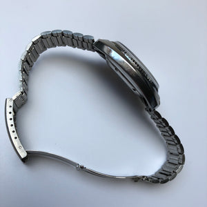 Watch with steel bracelet