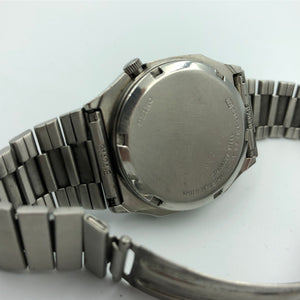 backside of seiko watch