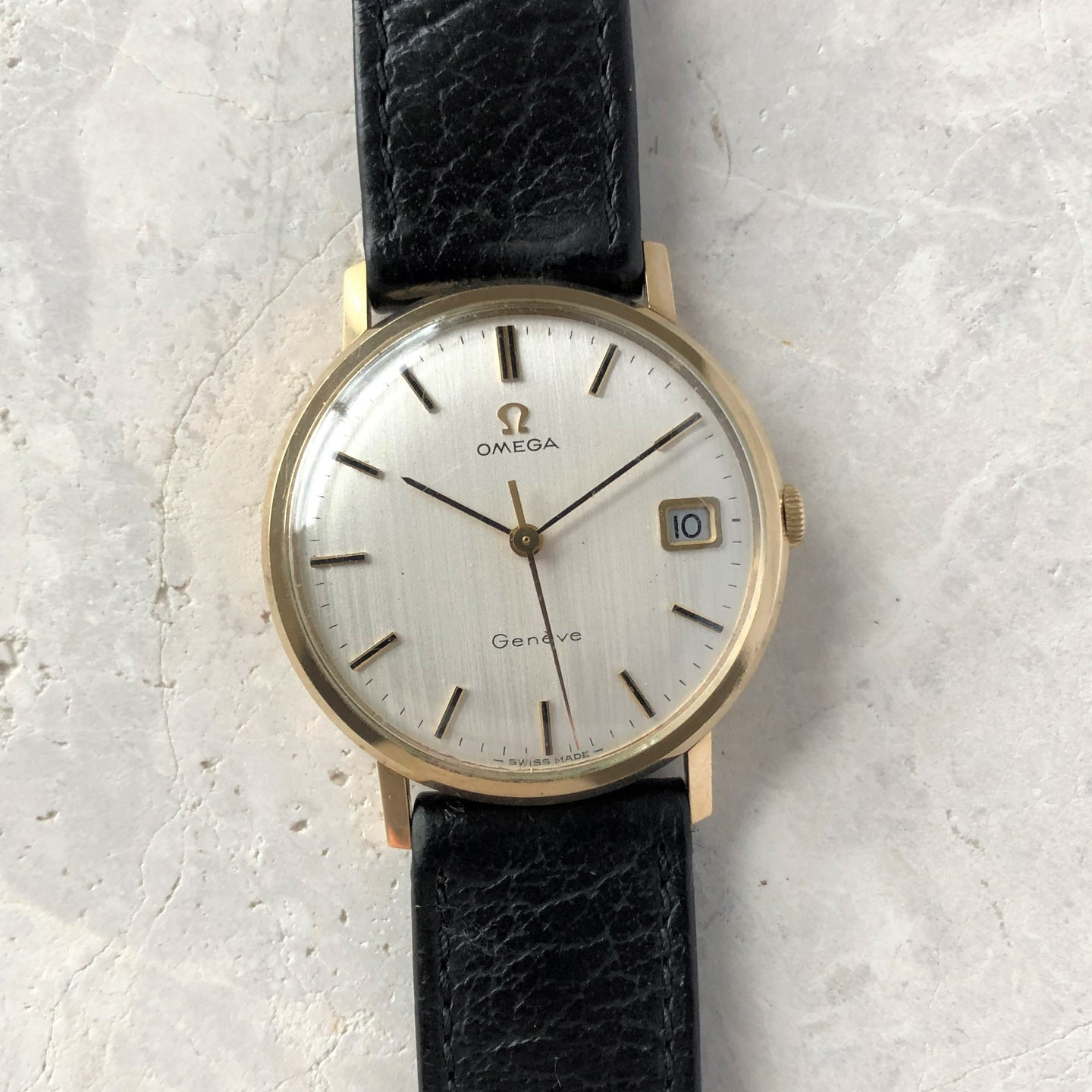 Vintage Omega gold watch