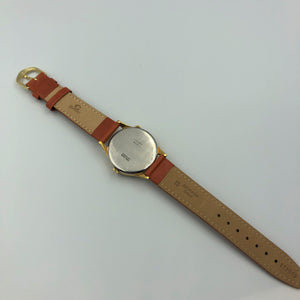 vintage watch leather strap