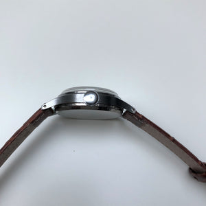 Antique wrist watch chrome plated