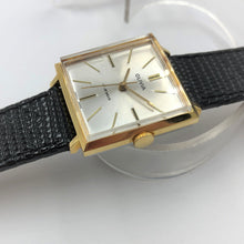 New old stock vintage watch gold