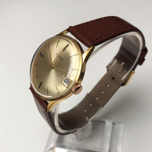 Gold watch Junghans